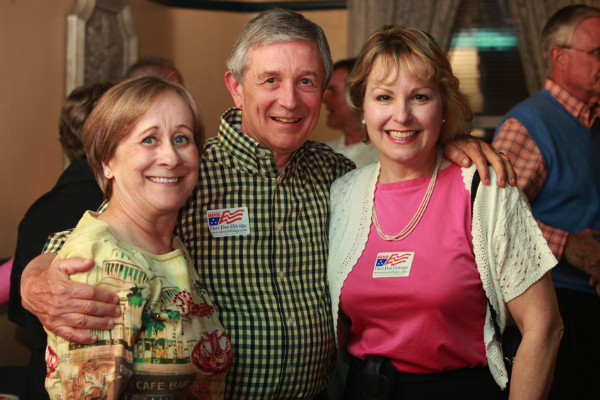 Election night with Lori and Al Fatherree