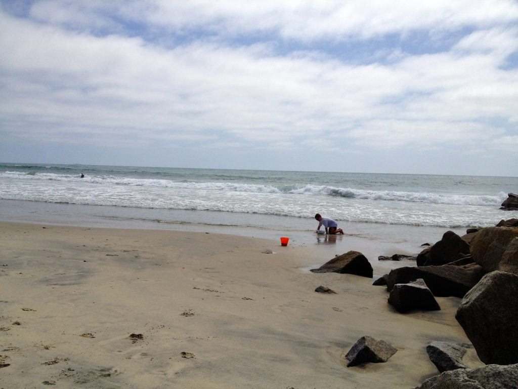 Southern California beaches are a great place to read and relax.