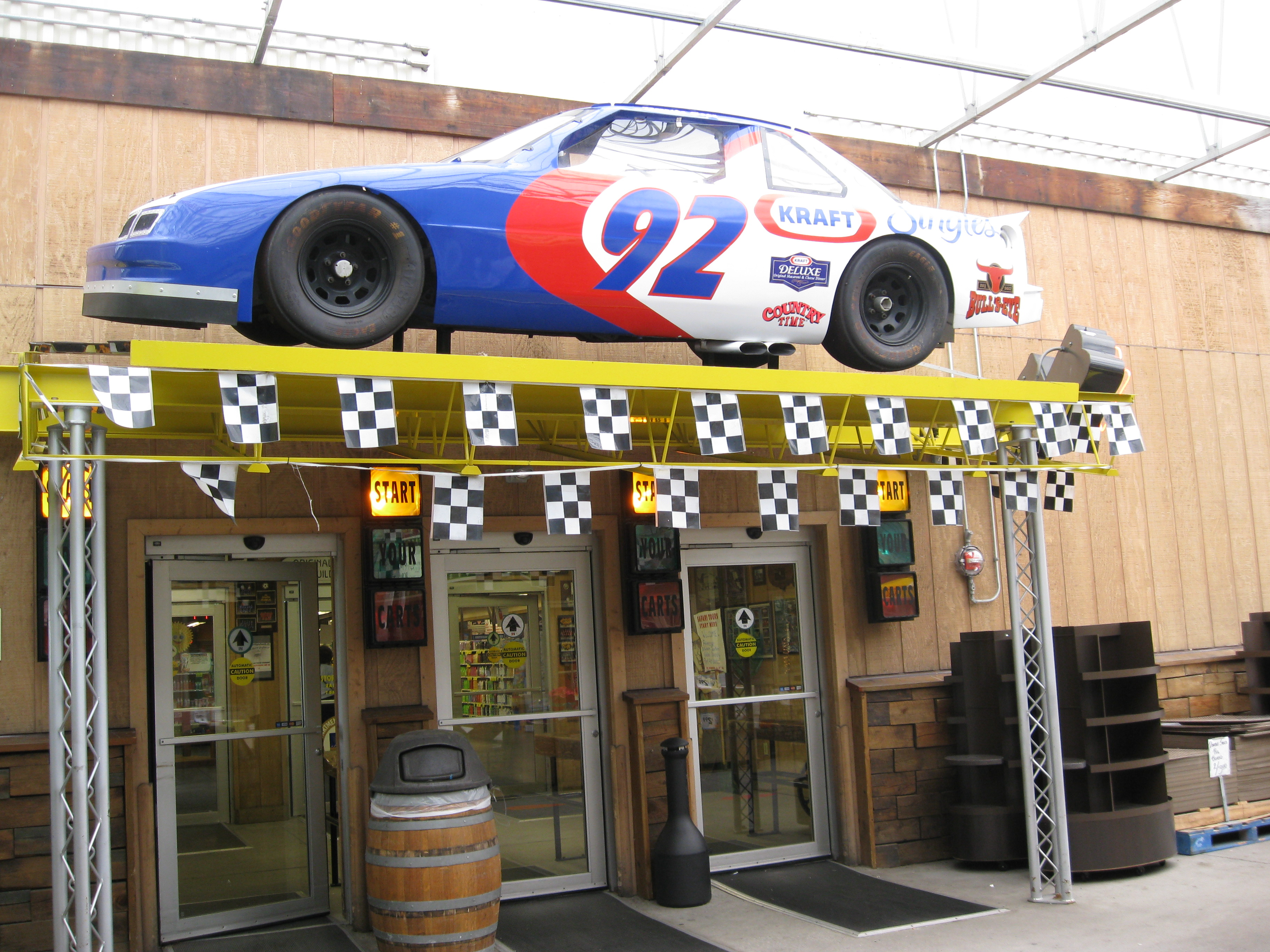 NASCAR entry to Jungle Jim's