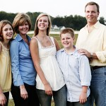 Dan Eldridge and his family