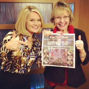 With Amy Lynn talking Personal Branding on DayTime Tri-Ciites