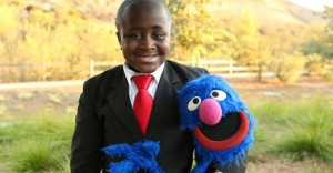 Kid President and Grover