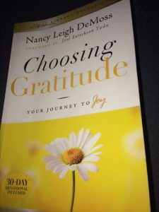 Learning to be thankful leads to a joyful life.