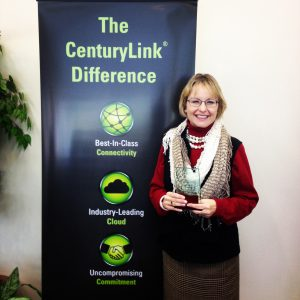 Winner, Faith in the Future, woman-owned business category.