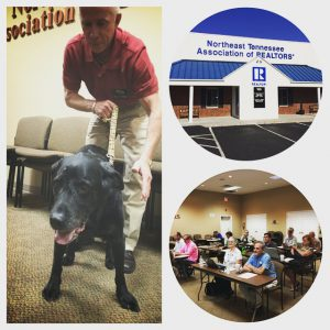 All of the REALTOR® LinkedIn students were great and one had 4 legs!